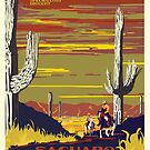 National Parks 2050: Saguaro by Hannah Rothstein