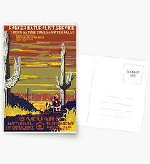 Nationalparks 2050: Saguaro Postkarten