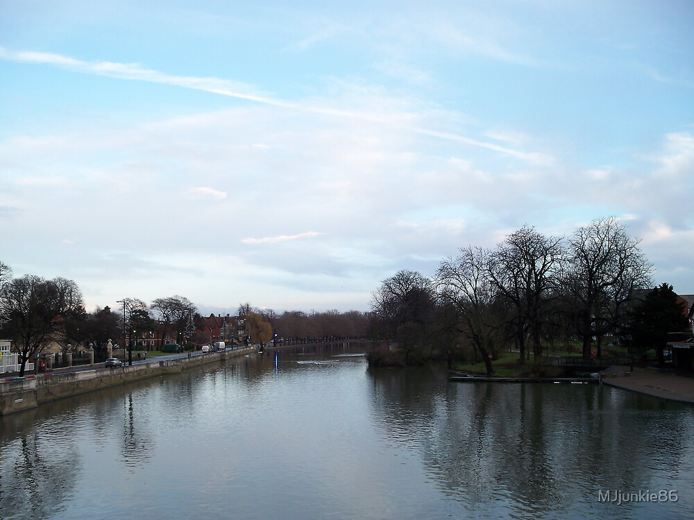 view of bedford river by MJjunkie86