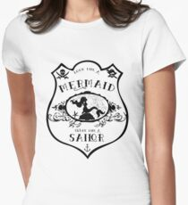 Look Like a Mermaid - Swear Like a Sailor Women's Fitted T-Shirt