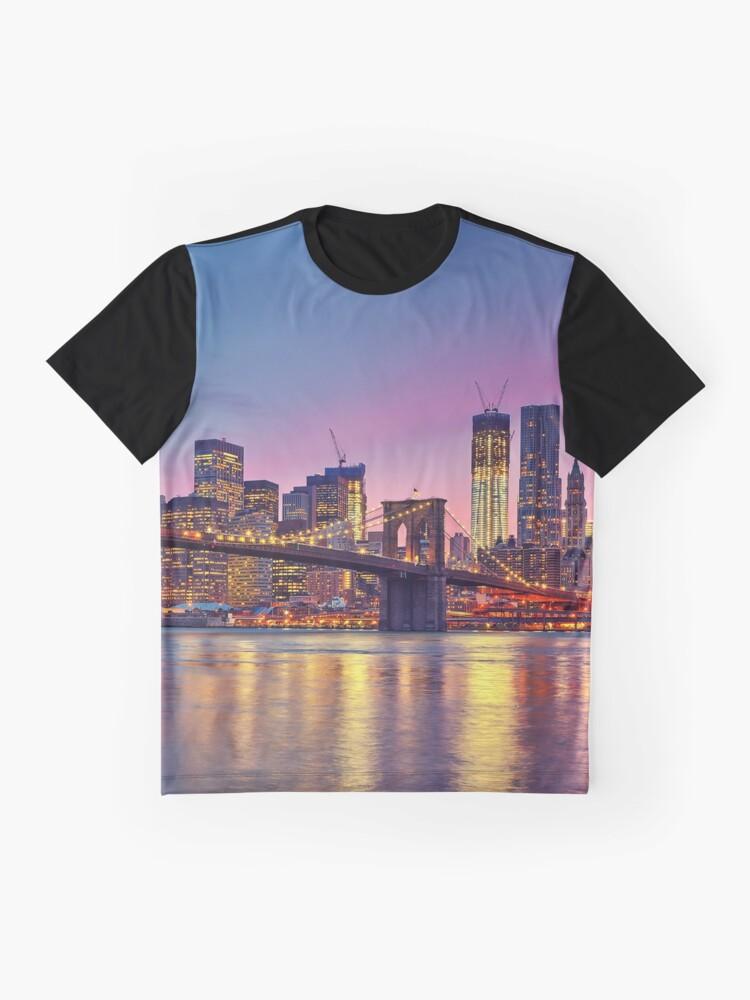 Vista alternativa de Camiseta gráfica NUEVA YORK