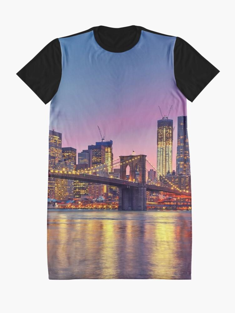 Vista alternativa de Vestido camiseta NUEVA YORK