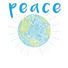 Peace on Earth - Earth Scribble by jitterfly