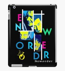 """New Order Joy Division Shirt - """"Out of Order"""" iPad Case/Skin"""