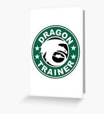 Dragon trainer Greeting Card