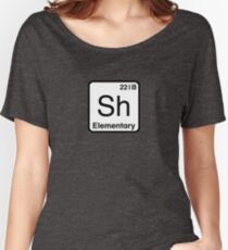 The Atomic Symbol for Detection  Women's Relaxed Fit T-Shirt
