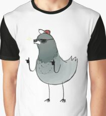 Pigeons Are Cooler Graphic T-Shirt