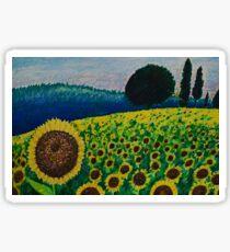 Sunflower Paradise Sticker