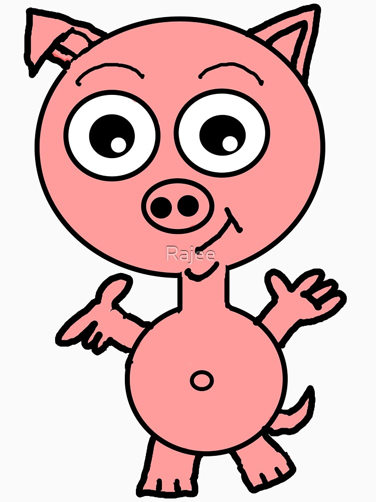 Howie the Pig by Rajee