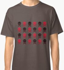 8bit skulls Classic T-Shirt