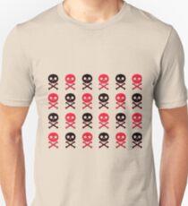 8bit skulls Unisex T-Shirt
