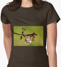 Blossoms And Buds Womens Fitted T-Shirt