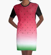 Watermelon Graphic T-Shirt Dress