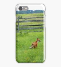 The Not So Shy Fox iPhone Case/Skin