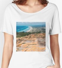 Pristine beach on Moreton Island. Women's Relaxed Fit T-Shirt
