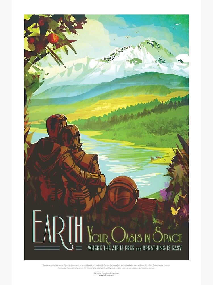 NASA JPL Space Tourism: Earth by bobbooo