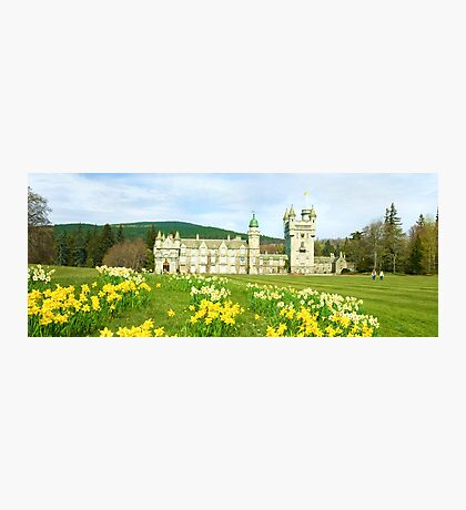 Spring at Balmoral Castle Photographic Print