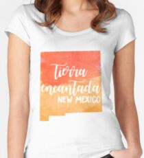 New Mexico - Tierra Encantada Women's Fitted Scoop T-Shirt