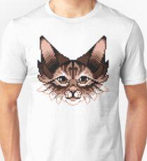Pixel Cat Unisex T-Shirt