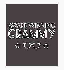 Award Winning Grammy Photographic Print