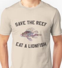 Save The Reef Eat A Lionfish Unisex T-Shirt