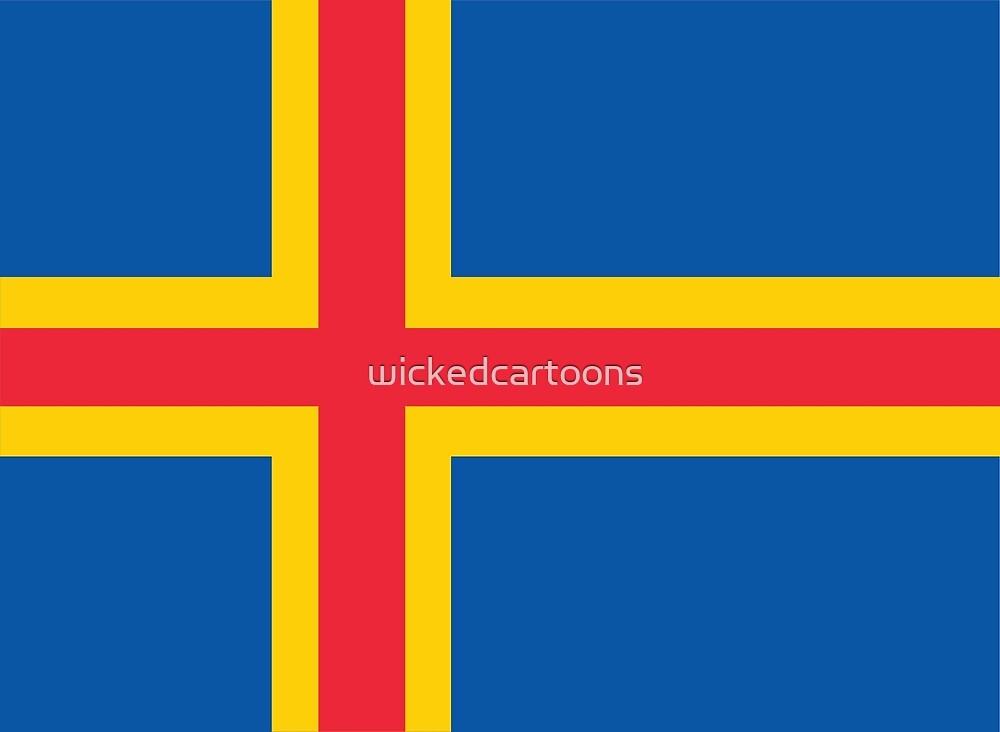 Åland Islands by wickedcartoons