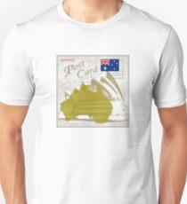 Australia Curio Post Card Unisex T-Shirt