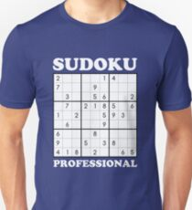 Sudoku Professional Unisex T-Shirt