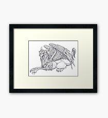 Griffon Framed Print