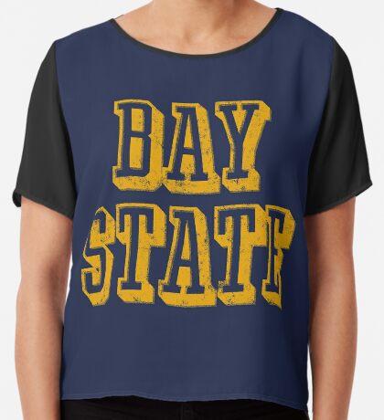 The Bay State - Vintage & Retro Chiffon Top