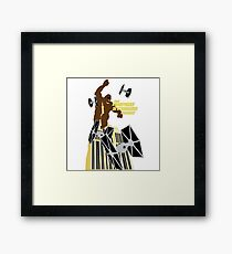 The Empire Strikes Back Framed Print