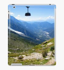 Mont Blanc Cable Car iPad Case/Skin