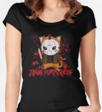 Jason Purrrhees Women's Fitted Scoop T-Shirt