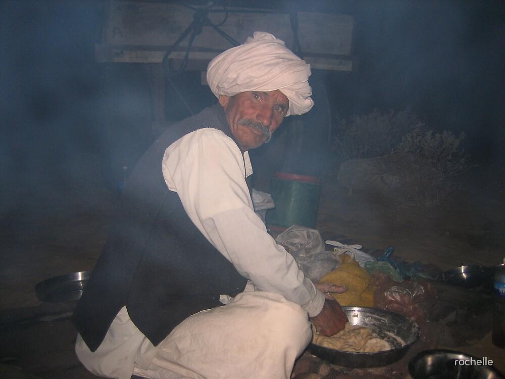 Preparing Dinner by rochelle