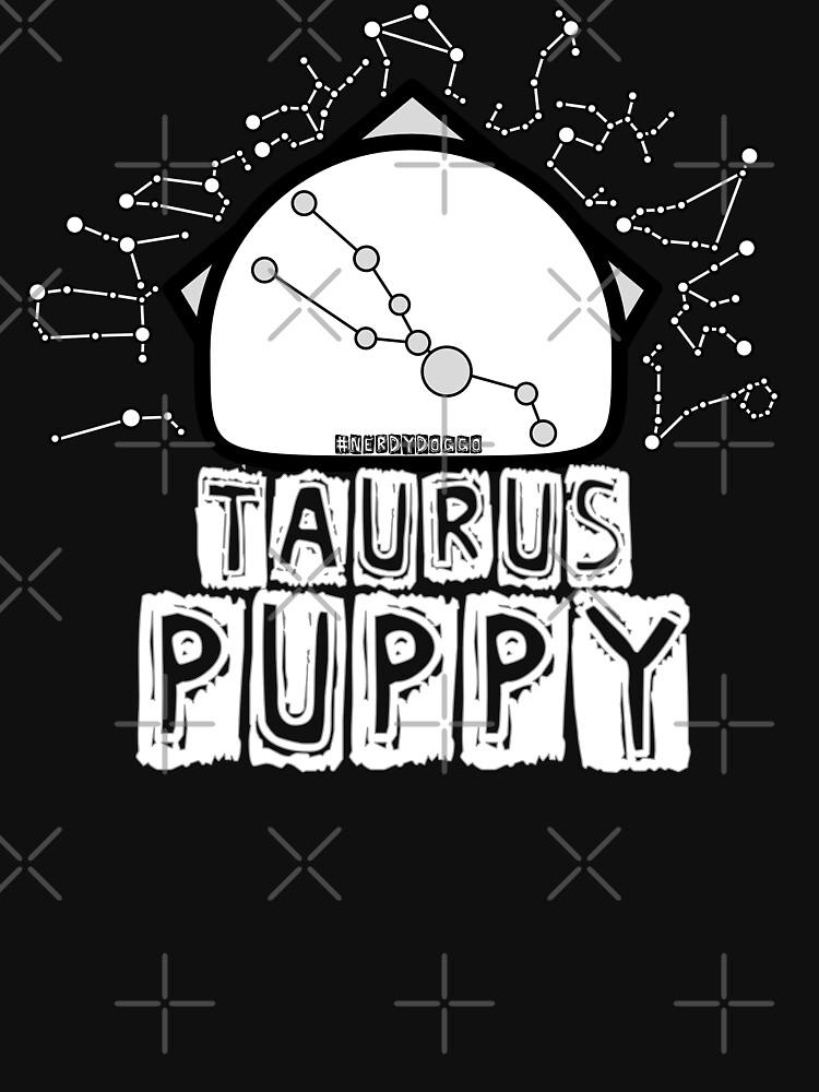 Taurus Zodiac Pup by NerdyDoggo