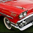 1958 Chevy Impala by Linda Bianic