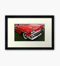 1958 Chevy Impala Framed Print