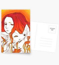 Fox Kin Postcards