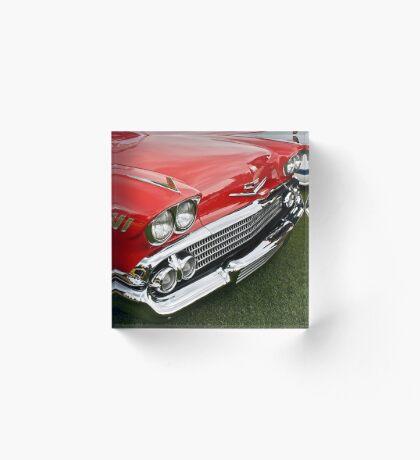 1958 Chevy Impala Acrylic Block