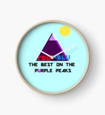 Red-Blu: The Best on the Purple Peaks Clock