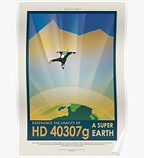 NASA JPL Exoplanet Reisebüro: HD 40307g Poster