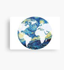 Starry World Canvas Print