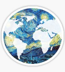 Starry World Sticker