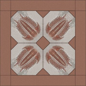 Trilobite Tile by yarddawg