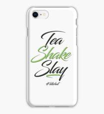 Tea Shake Slay Herbaswag iPhone Case/Skin