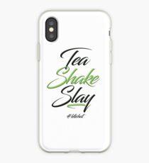 Tea Shake Slay Herbaswag iPhone Case