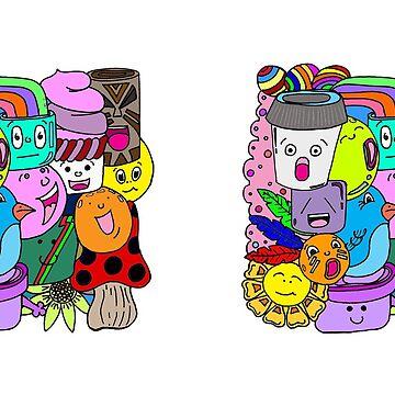 Cup Designs: Doodles, Mug by MADEBYCATHERINE
