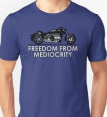 Cruiser Motorcycle Freedom Unisex T-Shirt