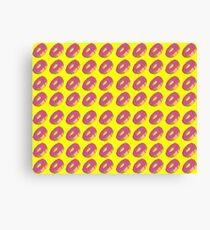 Retro Doughnuts Canvas Print