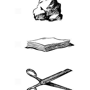 Rock Paper Scissors by zandozan